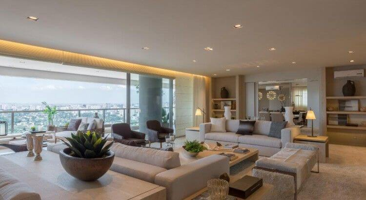 Saiba as características de um apartamento alto padrão