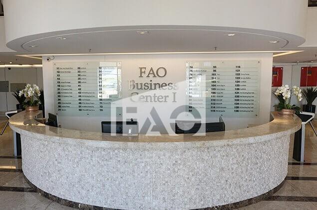 FAO BUSINESS CENTER I